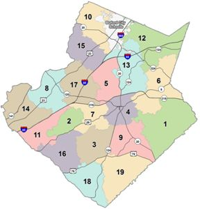 Image for GCPS Cluster Map